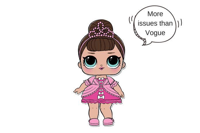 Coloring Pages Of Fancy Alphabet Letters : Fancy lol surprise doll coloring page lotta lol