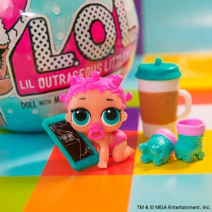 Surprise 2 L.O.L Series 3 Wave 2 Sister LOL Doll Exclusive MGA Lot Of 2...