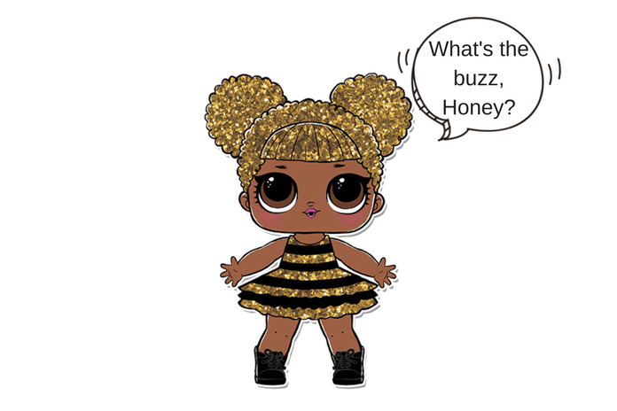 Queen Bee LOL Surprise Doll Coloring Page