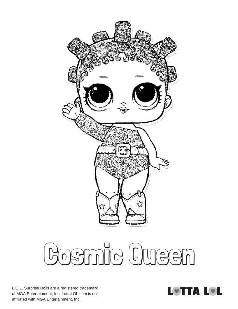 Cosmic Queen LOL Surprise Doll