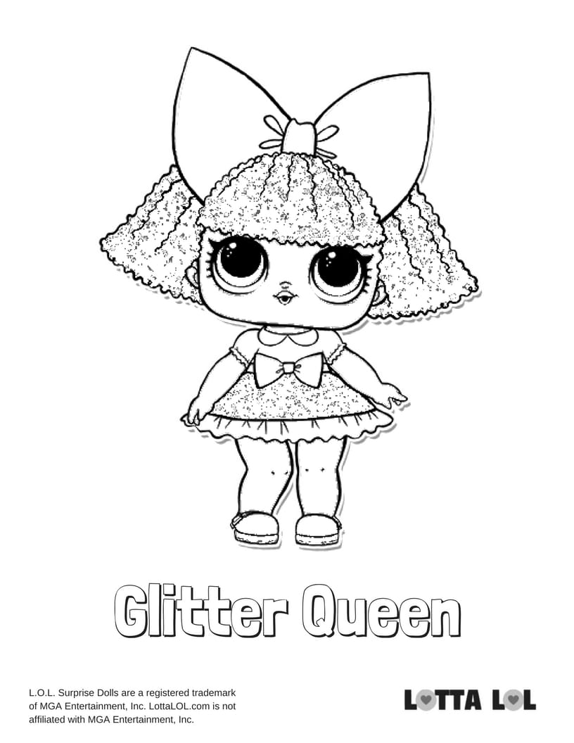 Glitter Queen LOL Surprise Doll