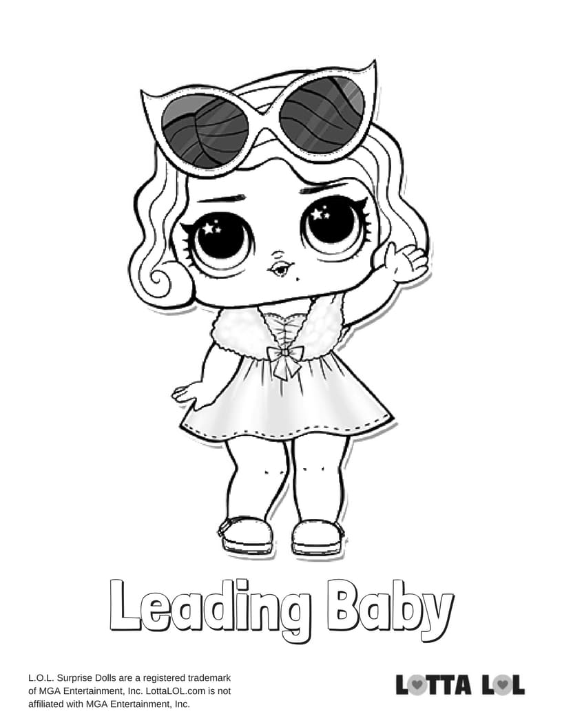 Leading Baby LOL Surprise Doll