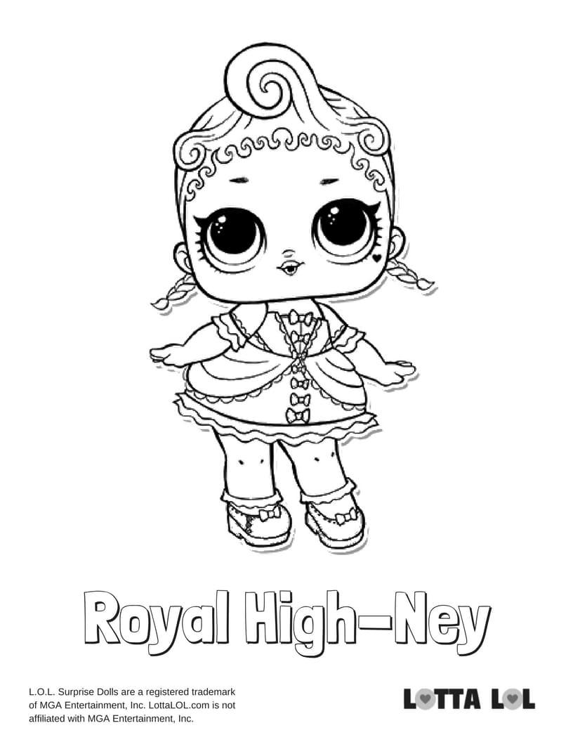 Royal HighNey LOL Surprise Doll