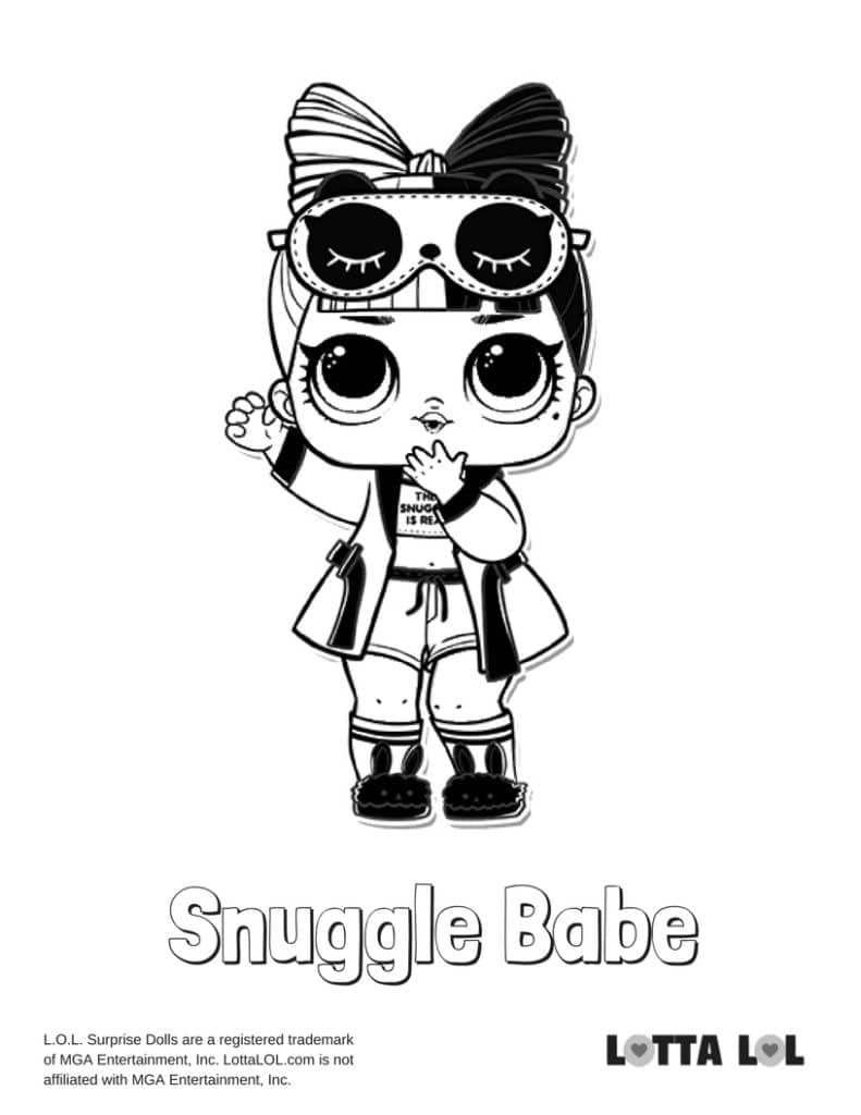 Snuggle Babe LOL Surprise Doll