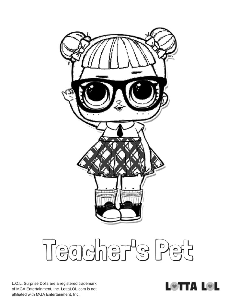 Teacher 39 s Pet LOL Surprise Doll