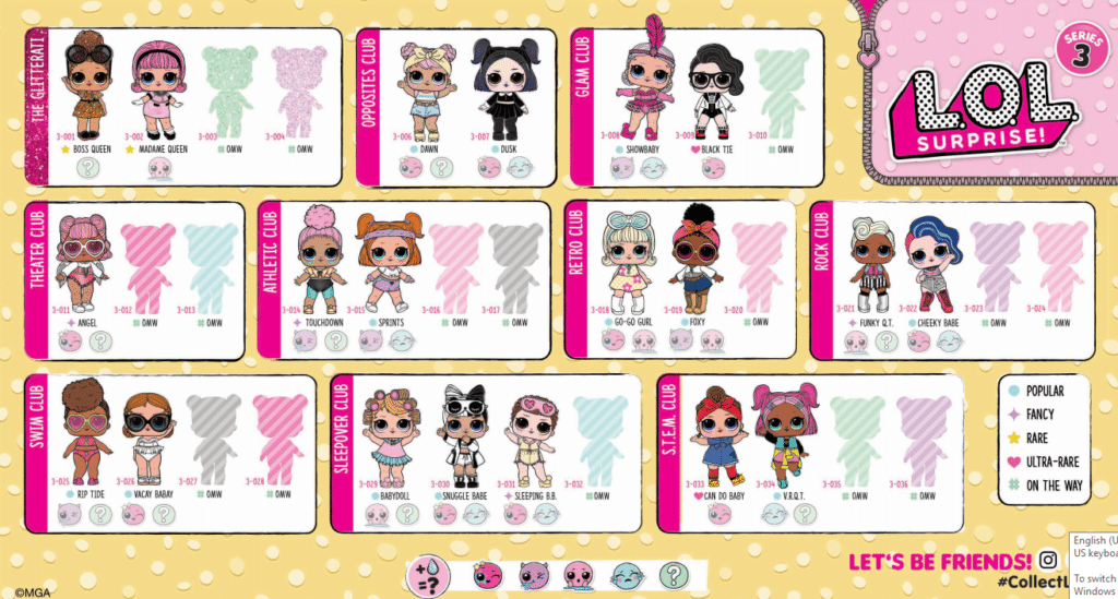 Lol Surprise Series 3 Confetti Pop Guide Lotta Lol
