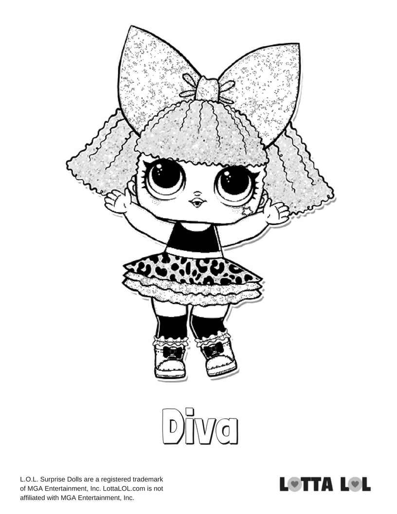 Diva Glitter LOL Surprise Doll