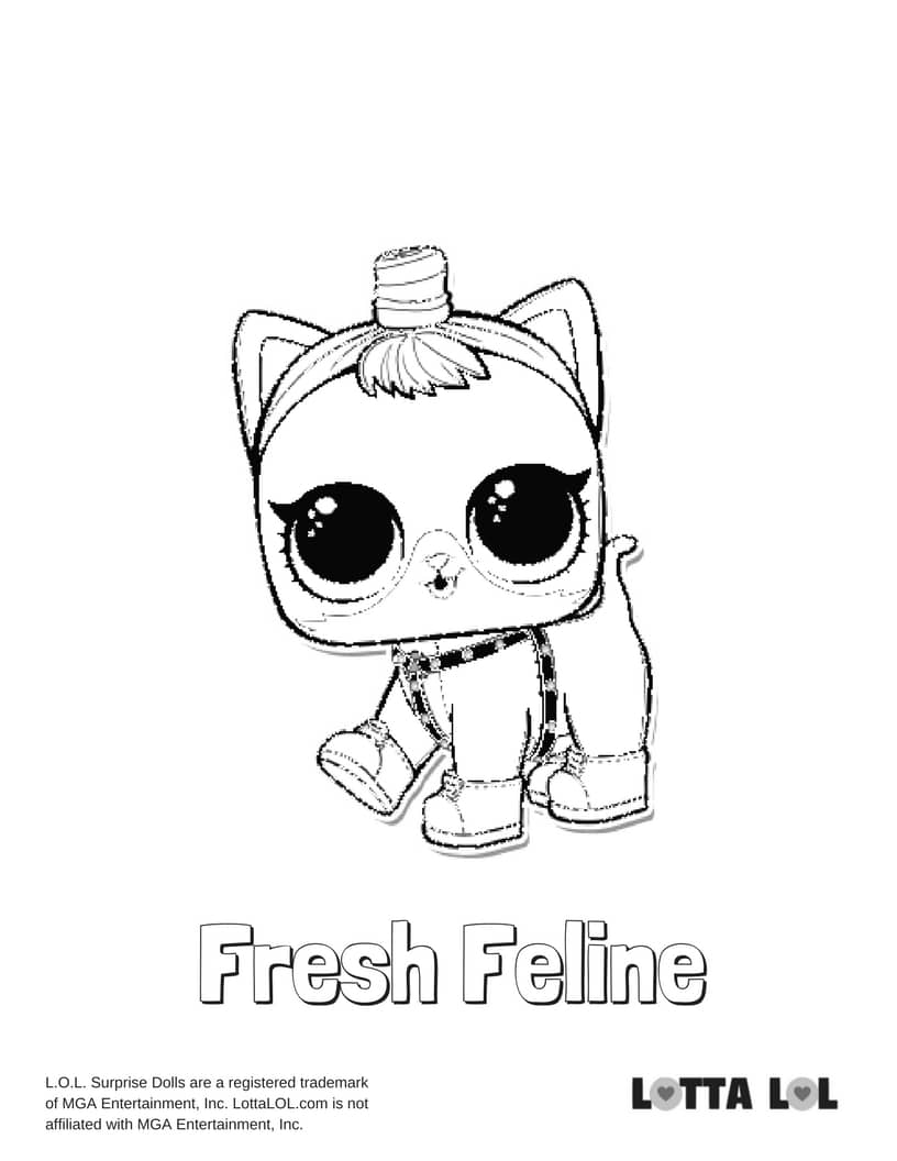 Fresh Feline Dog LOL Surprise Doll
