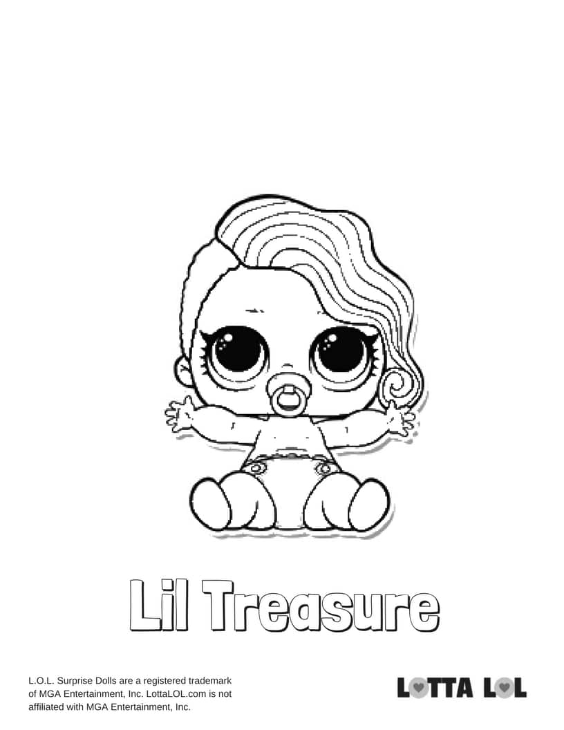 Lil Treasure LOL Surprise Doll