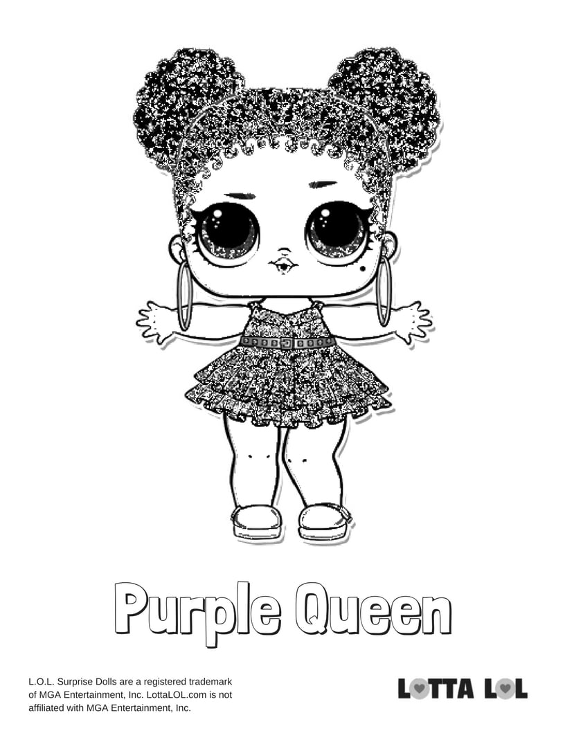 Purple Queen LOL Surprise Doll
