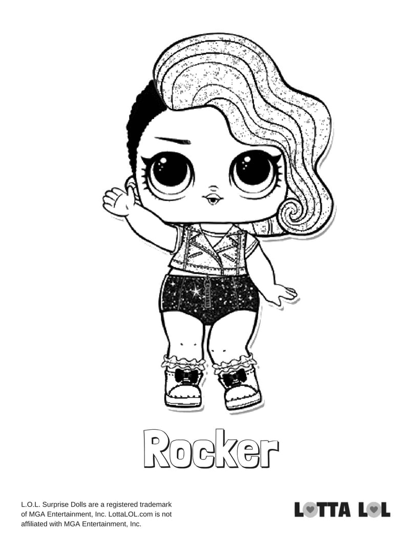 Rocker Glitter LOL Surprise Doll