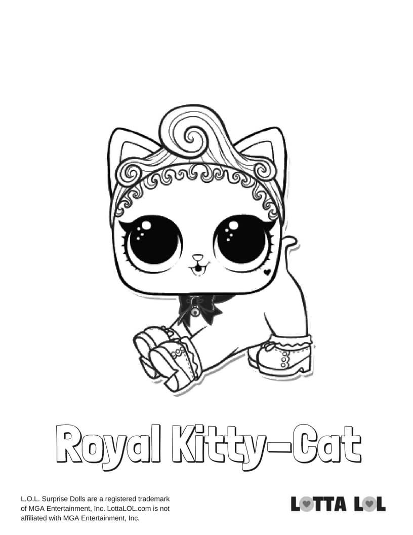 Royal KittyCat LOL Surprise Doll
