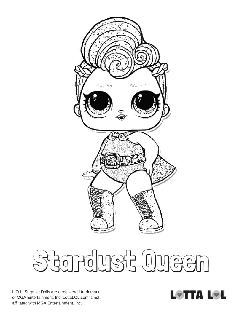 Stardust Queen LOL Surprise Doll