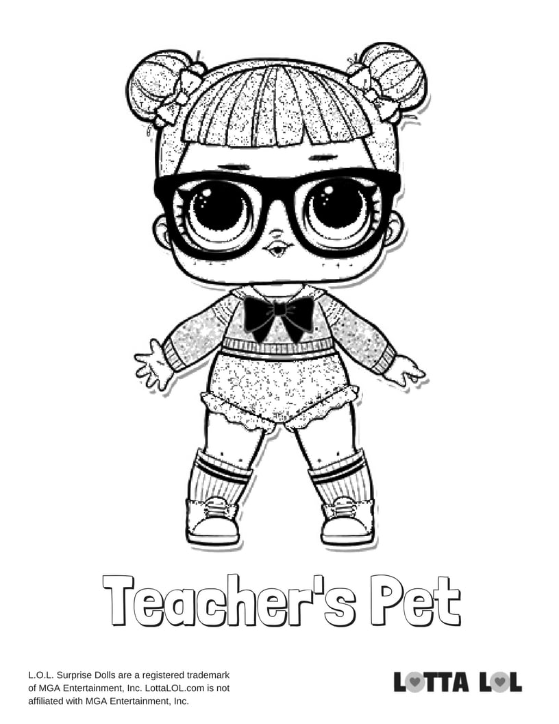 Teacher 39 s Pet Glitter LOL Surprise