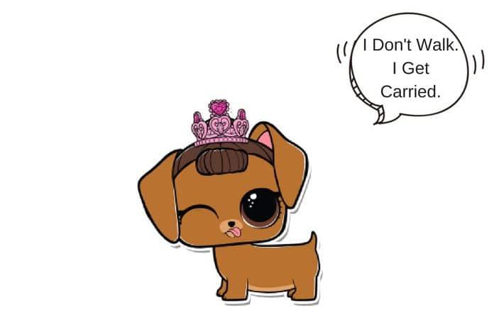 Coloring Pages Of Fancy Alphabet Letters : Fancy haute dog lol surprise doll coloring page lotta lol