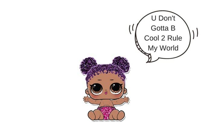 Lil Purple Queen Lol Surprise Doll Coloring Page Lotta Lol