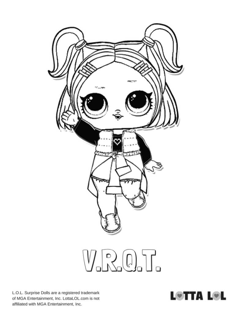 VRQT LOL Surprise Doll Coloring