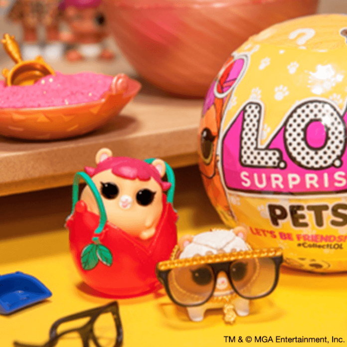 NEW Set of 2 LOL SURPRISE Balls Series 3 PETS Wave 1 /& 2 Dog /& Cat