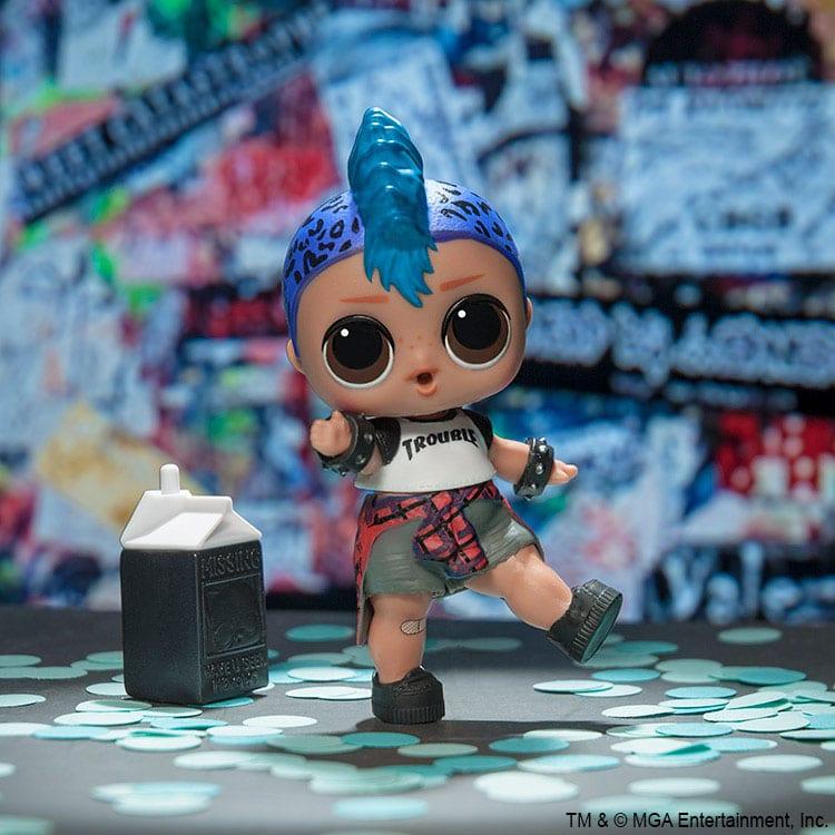 PUNK Boi BOY Doll Authentic Outfit Cloth /& SHOES For Lol Surprise L.O.L