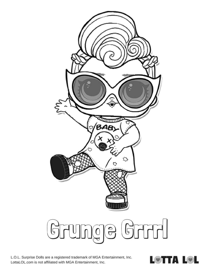 Grunge Grrrl LOL Surprise Doll