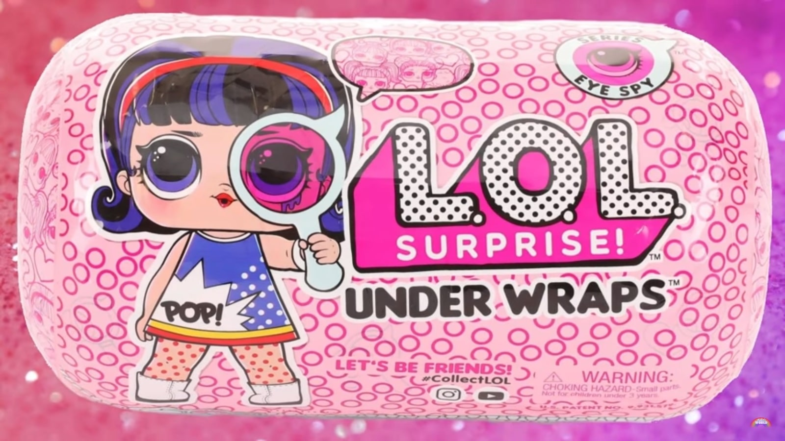 ***Lot Of 3!! **New Unopened L.O.L Surprise Under Wraps Series 2 15 Surprises