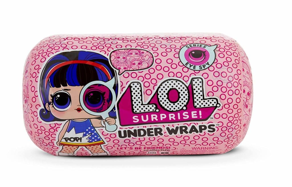 Eye Spy IN HAND LOL Surprise Doll Dolls Series 4 Under Wraps Tots L.O.L