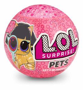 LOL Surprise PETS L.O.L Ball Series 4 Pet Doll Eye Spy Angel Wings Fuzzy Owl