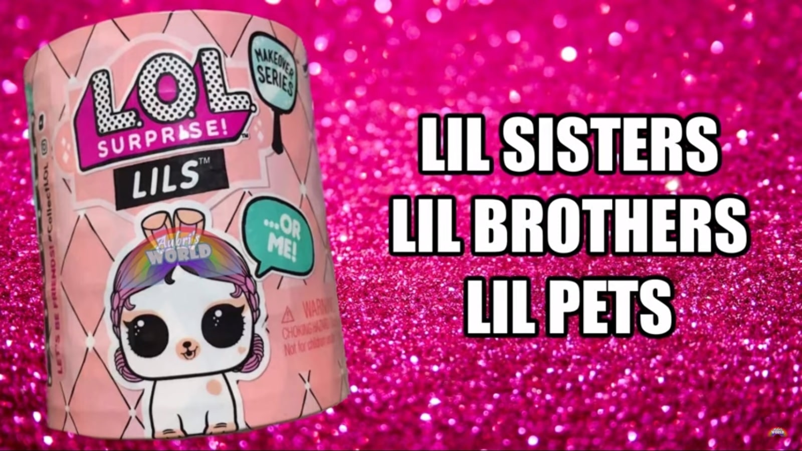 Brothers or Pets LOL SURPRISE  Lils Makeover Series 5 with Sisters