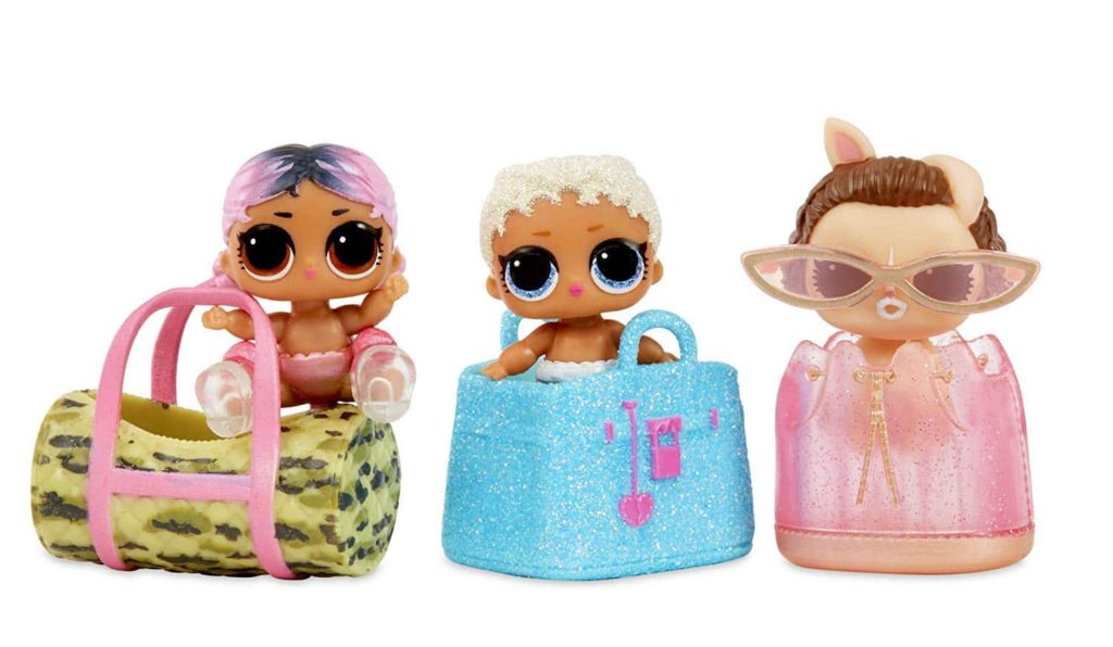 LOL Surprise Doll Her Majesty /& Her Lil Majesty Family Set Makeover Series Gifts